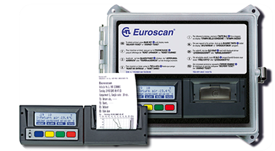 EuroScan temperature recorder in gps tracking